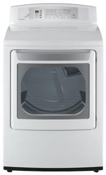 LG DLE4801W Electric Dryer