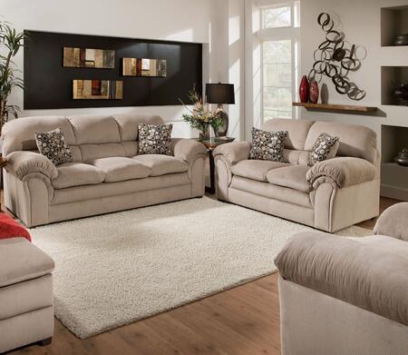 Simmons Upholstery 6150030201HARPERCOCOA Harper Living Room