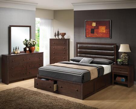 Coaster 202311KE5PCSET Remington King Bedroom Sets