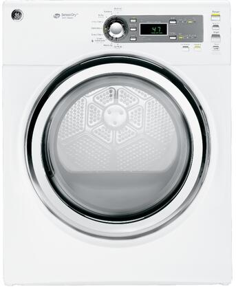 "GE GFDS140GDWW 27"" 7.0 cu. ft. Gas Dryer, in White"