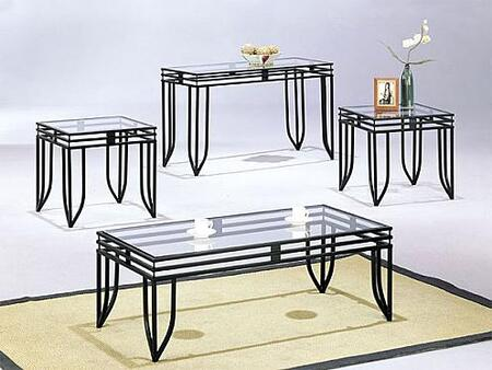 Acme Furniture 07558 Contemporary Living Room Table Set