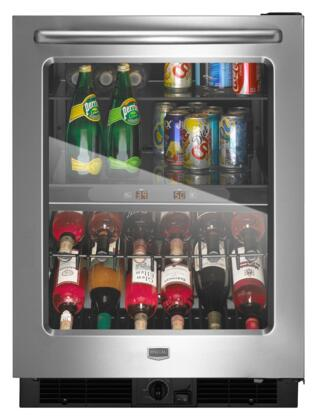 Maytag MBCM24FWBS  5.8 cu. ft. Built-In Beverage Center, in Stainless Steel