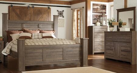 Milo Italia BR371QPSBDMC Reeves Queen Bedroom Sets