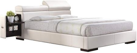 Acme Furniture 20420Q Manjot Series  Queen Size Panel Bed