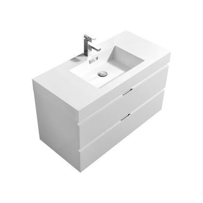 Kubebath Template: BSL40 Wall Mount Modern Bathroom Vanity