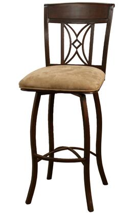American Heritage 130798UMC07 Arista Series Residential Fabric Upholstered Bar Stool