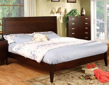 Furniture of America CM7910QBED Crystal Lake Series  Queen Size Bed