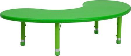 Flash Furniture YUYCX0042MOONTBLGREENGG