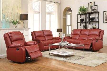 Acme Furniture 52150SLR Zueiel Living Room Sets