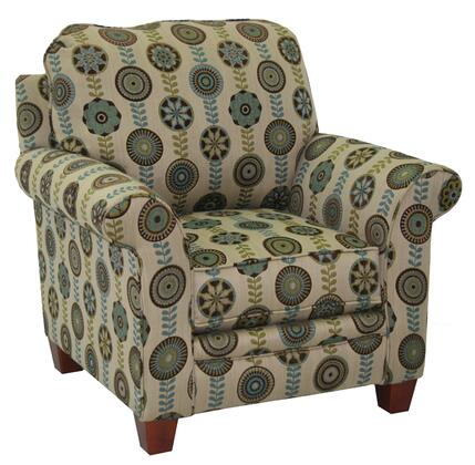 Jackson Furniture 317827 Armchair Chenille Wood/Steel Frame Accent Chair