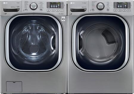 LG WM4370HVAEDPAIR1 Washer and Dryer Combos