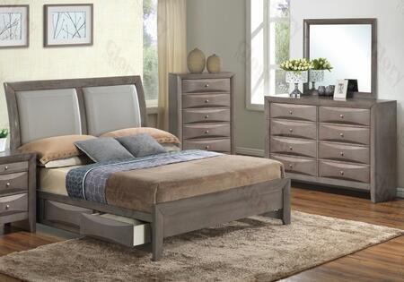 Glory Furniture G1505DDFSB2DM G1505 Full Bedroom Sets