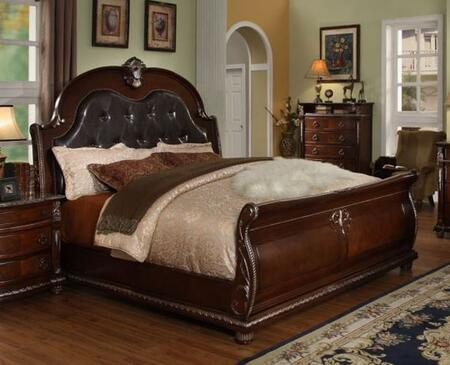 Meridian PALAZZOQ Palazzo Series  Queen Size Panel Bed
