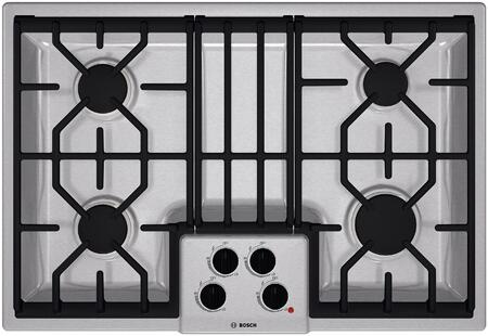 """Bosch NGM5054UC 31"""" 500 Series Gas Sealed Burner Style Cooktop"""