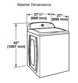 Whirlpool Wtw5800bw Cabrio Series Top Load Washer