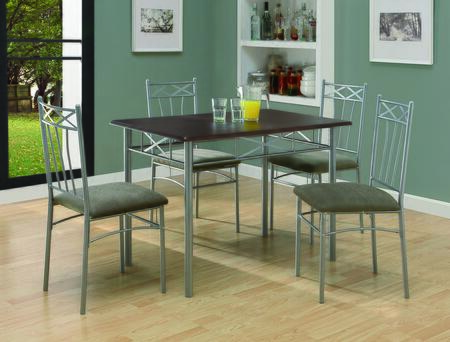Monarch I1020 Contemporary Living Room Table Set