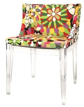 Wholesale Interiors DC493FABRIC Fiore Series  Accent Chair