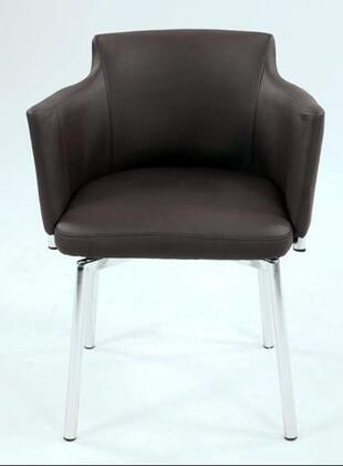 Chintaly DUSTYACBRW  Dining Room Chair