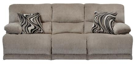 "Catnapper Jules Collection 2201- 88"" Power Reclining Sofa with Chenille Fabric Upholstery, Pillow Top Arms and Steel Seat Box in"
