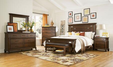Broyhill 4364QPANELNCDMB Estes Park Queen Bedroom Sets
