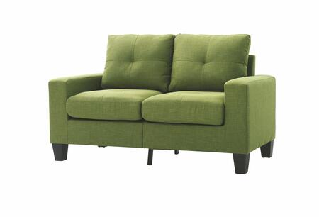Glory Furniture G476AL Newbury Series Fabric Stationary Loveseat