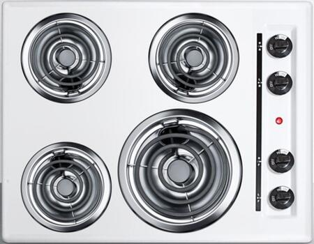 "Summit WEL03 24"" Electric Cooktop"