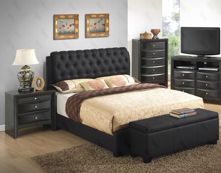 Glory Furniture G1500CTBUPCHNB G1500 Twin Bedroom Sets