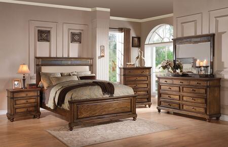 Acme Furniture 24437EK5PC Arielle King Bedroom Sets