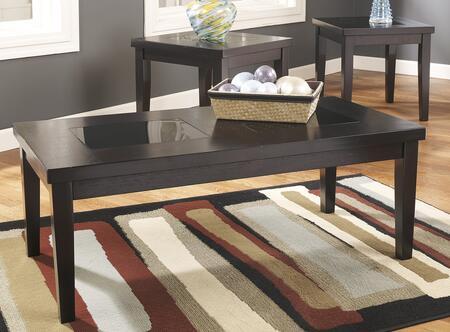 Milo Italia TA28123 Contemporary Living Room Table Set