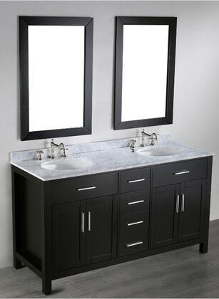 """Bosconi SB2524X 60"""" Double Vanity"""