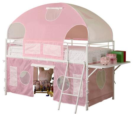 Coaster 460202 Sweetheart Tent Series  Twin Size Bunk Bed
