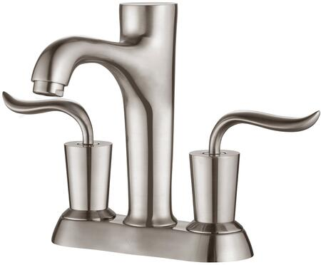 """Kraus FUS13802 Premier Series Coda 4"""" Bathroom Basin Centerset Faucet with Solid Brass Construction, Neoperl Aerator, and Ceramic Cartridge"""