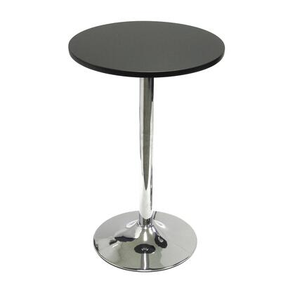 Winsome 937X9 Spectrum Round Bistro / Tea Table with Metal Leg