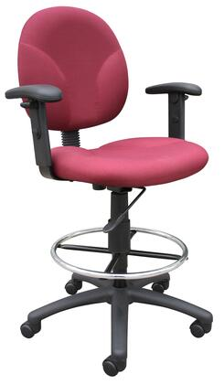 """Boss B1691BY 25"""" Adjustable Contemporary Office Chair"""