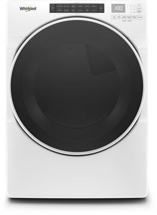 Whirlpool WED6620HW 27 Inch Electric Dryer with 7 4 cu  ft  Capacity