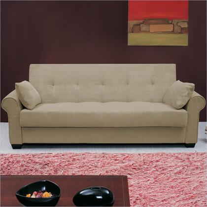 LifeStyle Solutions CCROXOVSET Casual Convertibles Series  Fabric Sofa