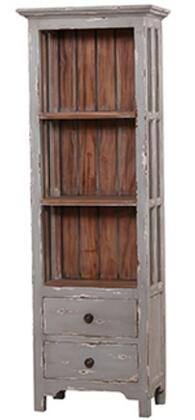 Bramble 23645 Aries Series Wood 2 Shelves Bookcase