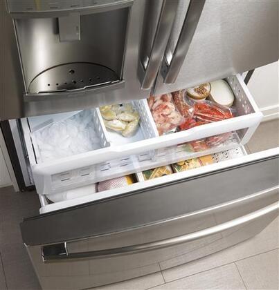 Ge Gfd28gslss 36 Inch French Door Refrigerator In