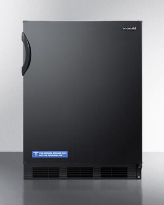"""AccuCold FF7BxADA 24"""" Refrigerator Only with 5.5 cu. ft. Capacity, ADA Compliant, Commercially Approved, Reversible Doors, 100% CFC Free, in"""