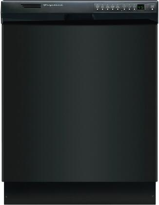 "Frigidaire FDB2410HIB 24"" Built In Full Console Dishwasher with 12 Place Settings Place Settingin Black"