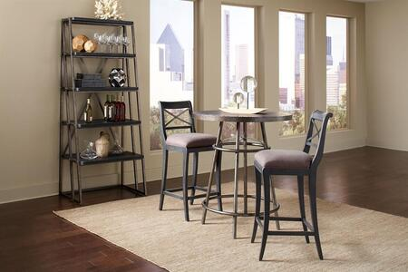 Pulaski 402244SETB Vintage Tempo Bar Table Sets