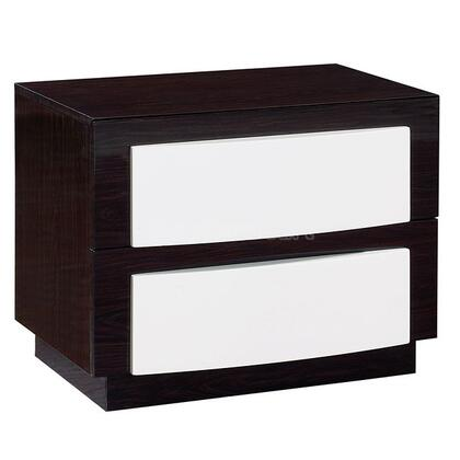 Global Furniture USA SILANS Sila Series  Wood Night Stand