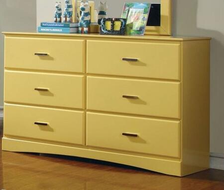Furniture of America CM7941YWD Prismo Series  Dresser