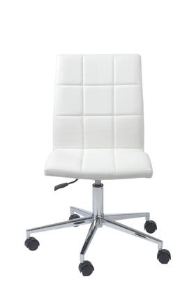 "Euro Style 17181WHT 24.4"" Contemporary Office Chair"