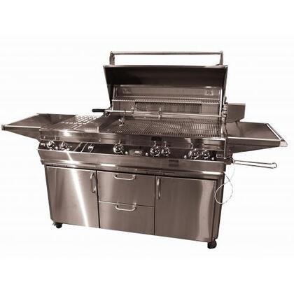 FireMagic E790S2E1P71 Freestanding Grill, in Stainless Steel