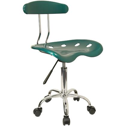 "Flash Furniture LF214GREENGG 17"" Adjustable Contemporary Office Chair"