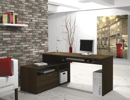 Bestar Furniture 90426 Modula L-shaped Workstation