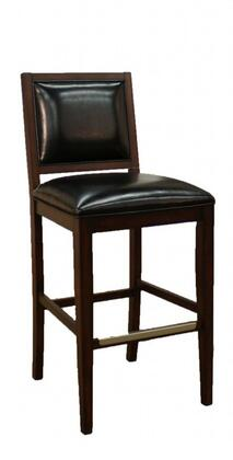 American Heritage 134766ESL15 Bryant Series Residential Leather Upholstered Bar Stool