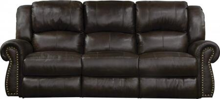 Catnapper 764221128309308309 Messina Series  Leather Sofa