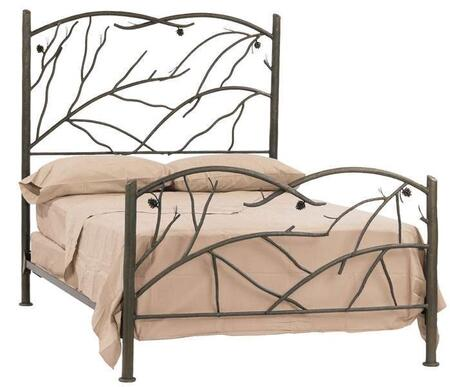 Stone County Ironworks 904102  California King Size HB & Frame Bed